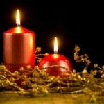 Christmas candles — Stock Photo #31815847