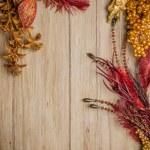 Christmas decorations frame — Stock Photo #31815923