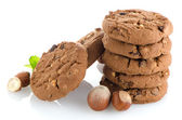 Homemade chocolate cookies — Stock Photo