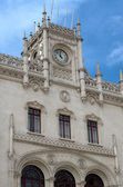 Rossio Lisbon central station — Stock Photo