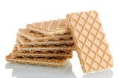 Vanilla wafers — Stock Photo