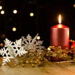Christmas candles — Stock Photo #32444823