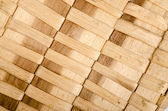 Background of rustic interlaced straw — Stock Photo