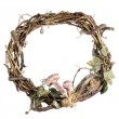 Wreath made with straw — Stock Photo #34503185
