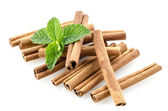 Cinnamon sticks — Stock Photo