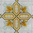 Stock Photo: Vintage spanish tiles