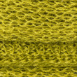 Green wool texture — Stock Photo