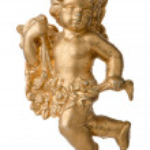 Angel Christimas decoration — Stock Photo