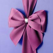 Fiocco rosa — Foto Stock