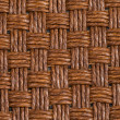 Brown wicker texture — Stock Photo #39533677