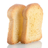 Golden brown toast — Stock Photo