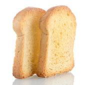 Golden brown toast — Stockfoto