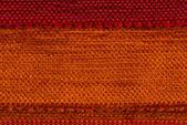 Oranje stof textuur — Stockfoto