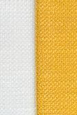 Yellow fabric texture — Stock Photo
