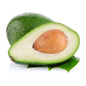 Avocados on white  — Stockfoto