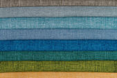 Fabric samples — Stock Photo