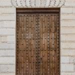 Old wooden entrance door — Stock Photo #41896055