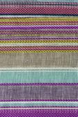 Multi barevné textilie textura vzorky — Stock fotografie