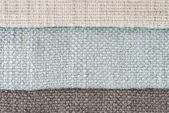 échantillons de tissu — Photo