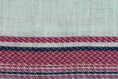 多彩色织物纹理样本 — 图库照片