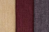 Amostras de textura de tecido de cor multi — Foto Stock