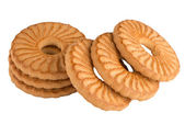 Rings biscuits — Stock Photo