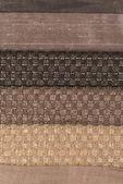 Multi renk kumaş doku örnekleri — Stok fotoğraf