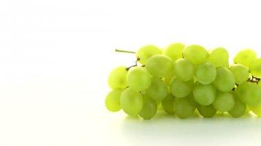緑色のブドウ — ストックビデオ