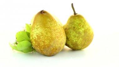 Three pears — Stock Video