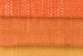 Orange fabric — Stock Photo