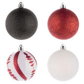 Christmas ball decorations — Stock Photo