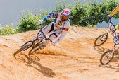 Carlos Rosado on the lead — Stock Photo