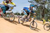 Cadet Athletes during race — Stock Photo