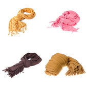 Set of scarves — Stock Photo