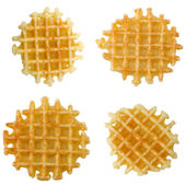 Crisp waffles — Stock Photo