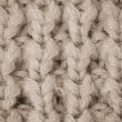 Beige knitted wool — Stock Photo #48446237