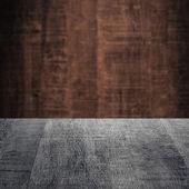 Dark grey Wood — Stock Photo