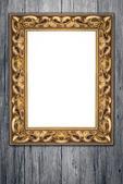Rámeček obrázku na zdi — Stock fotografie