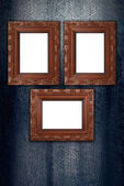 Old picture frame — Stockfoto