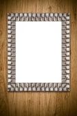 Vecchia cornice — Foto Stock