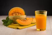Honeydew melon juice — Stock Photo