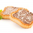 Chocolate and coconut tartlets — Stock Photo #49879355