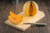 Honingdauw meloen — Stockfoto
