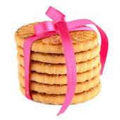 Envueltos festivos anillos galletas — Foto de Stock