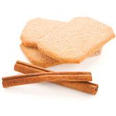 Cinnamon cookie — Stockfoto