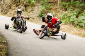 Diogo Gomes drifting during the 2nd Newton's Force Festival 2014 — Stock Photo