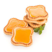 Lime jam tartlets — Stock Photo