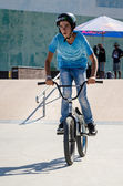 Tiago Martins during the DVS BMX Series 2014 by Fuel TV — Stock Photo