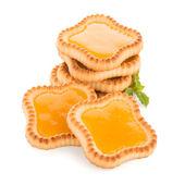 Lime jam tartlets — Stock Photo