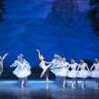 The classic ballet--swan lake — Foto de Stock